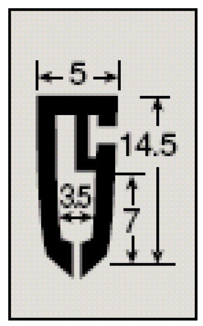 画像3: [メール便不可] カレンダーハンガーD1型 257mm 吊具付き 50セット