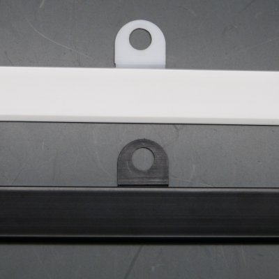 画像2: [メール便不可] カレンダーハンガーD1型 210mm 吊具付き 50セット