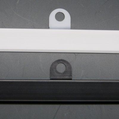 画像2: [メール便不可] カレンダーハンガーD2型 257mm 吊具付き 50セット